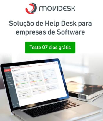 Solução de Help Desk para empresas de Software