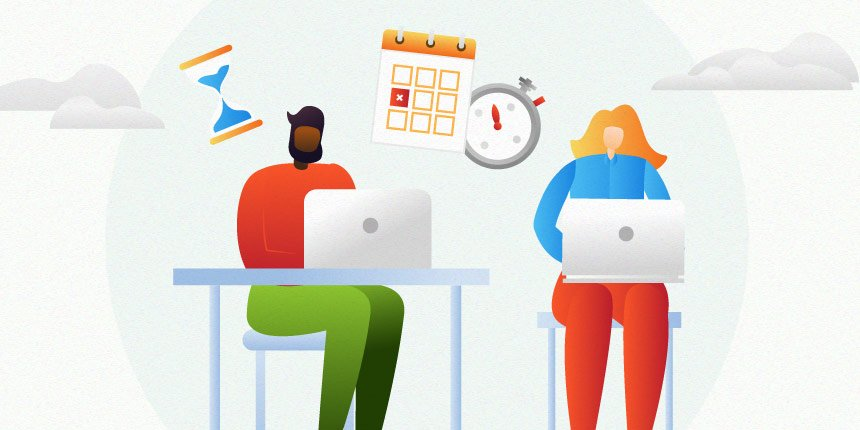 gestão de tempo em equipe de ti