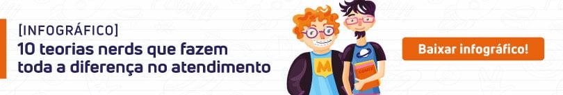 [Infográfico] Dia do Orgulho Nerd: 10 teorias que provam que os nerds dominam o atendimento ao cliente em qualquer empresa de software!