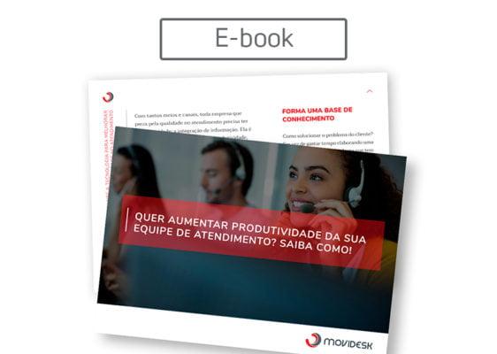 [E-book] Quer aumentar produtividade da sua equipe de atendimento? Saiba como!