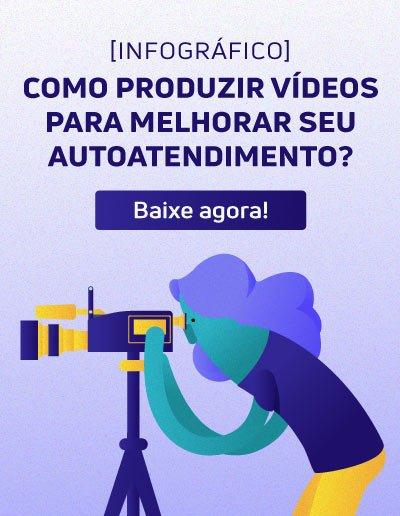 Como produzir vídeos para melhorar seu autoatendimento