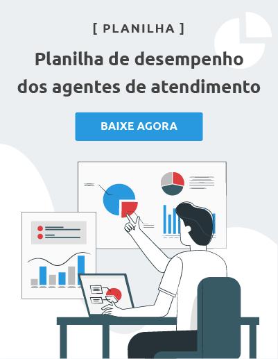 planilha de desempenho dos agentes de atendimento