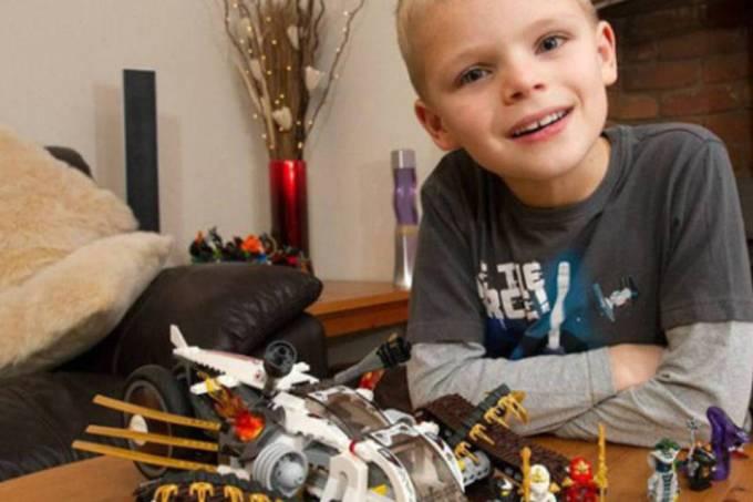 Luka Lego NinjaJogo foco no cliente