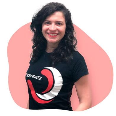 Jana, ful stack developer da Movidesk e futuro do atendimento!