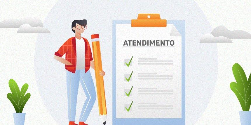 checklist de atendimento