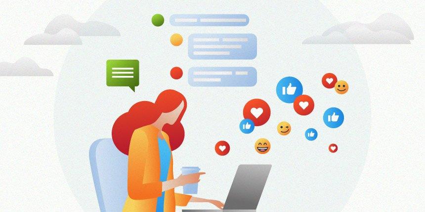 atendimento em redes sociais