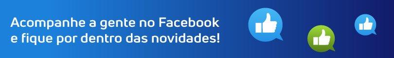 Acompanhe a gente no Facebook e fique por dentro das novidades!