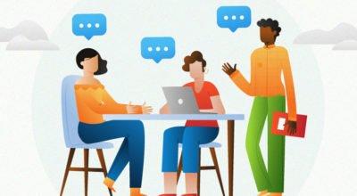 exemplos de comunicação interna