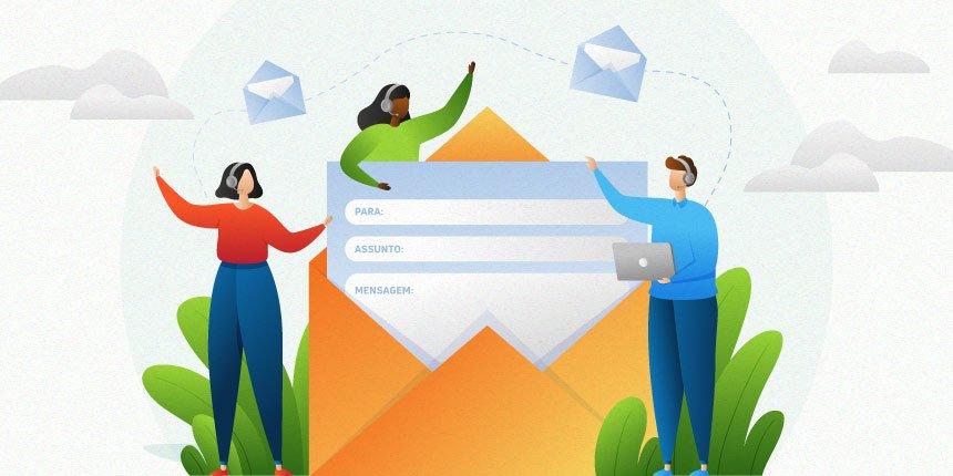 atendimento via e-mail