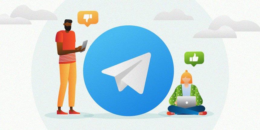 atendimento via telegram