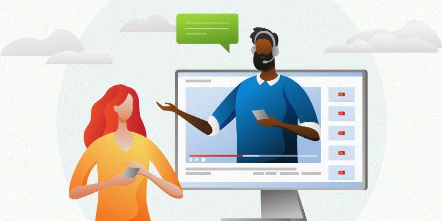 vídeos sobre atendimento ao cliente
