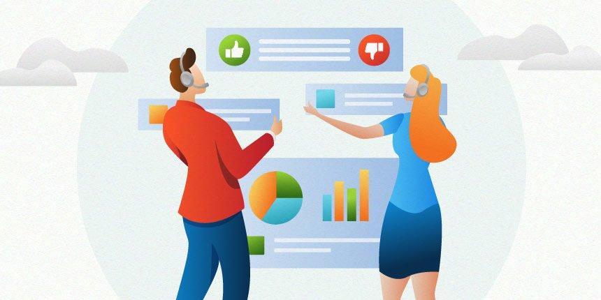 Dados sobre atendimento ao cliente