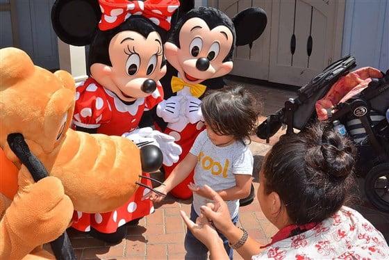 A Disney encantou o menino Phoenix