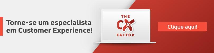 Torne-se um especialista em Customer Experience! Clique aqui.