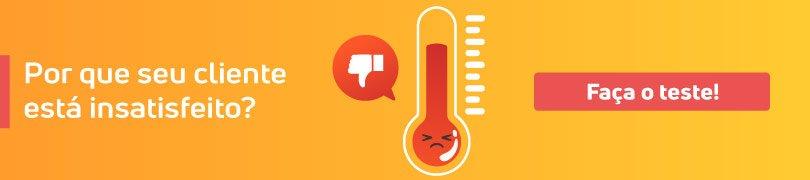 Modelo de Pesquisa de satisfação - Medidor de Insatisfação do Cliente