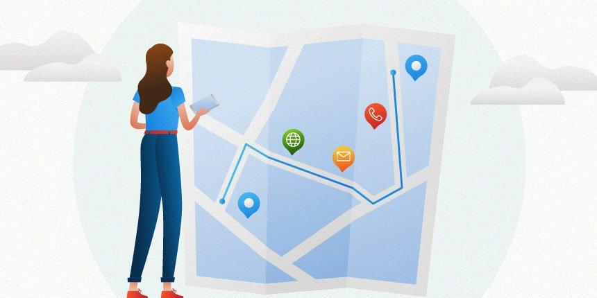 mapa da jornada do cliente