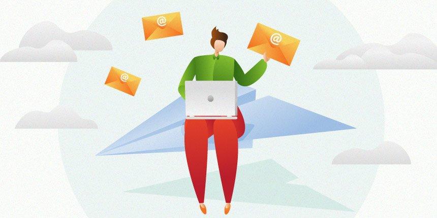 como gerenciar e-mails