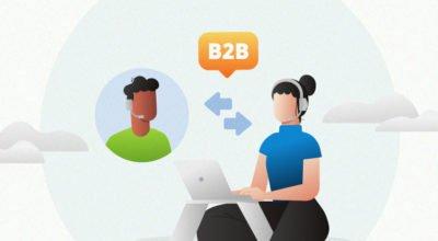 Como funciona o atendimento ao cliente B2B atualmente?