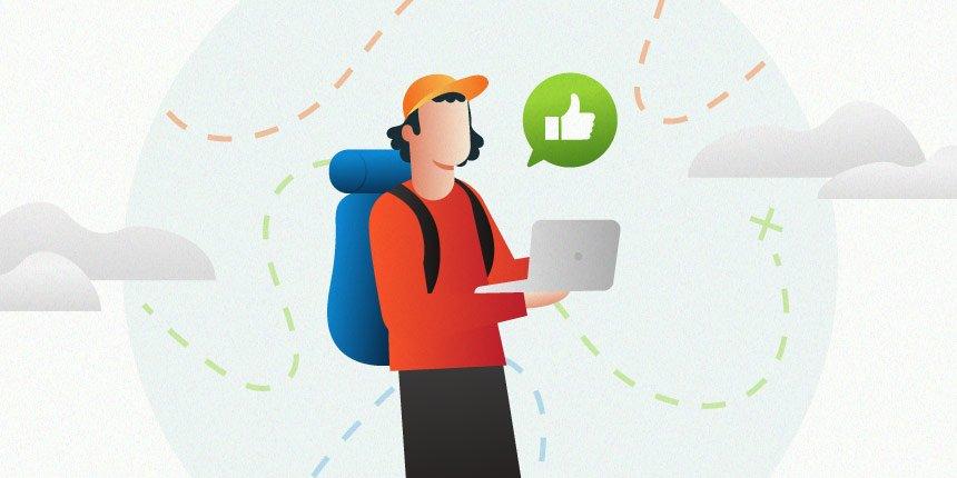 exemplos de jornada do cliente