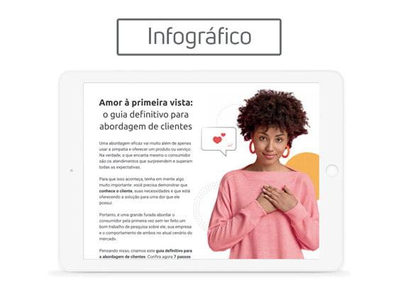 [Infográfico] Amor à primeira vista: o guia definitivo para abordagem de clientes