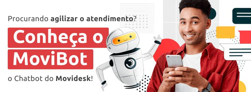 Conheça o MoviBot, chatbot do Movidesk!